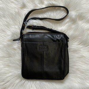 Relic Black Leather Handbag
